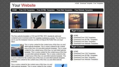 free website template
